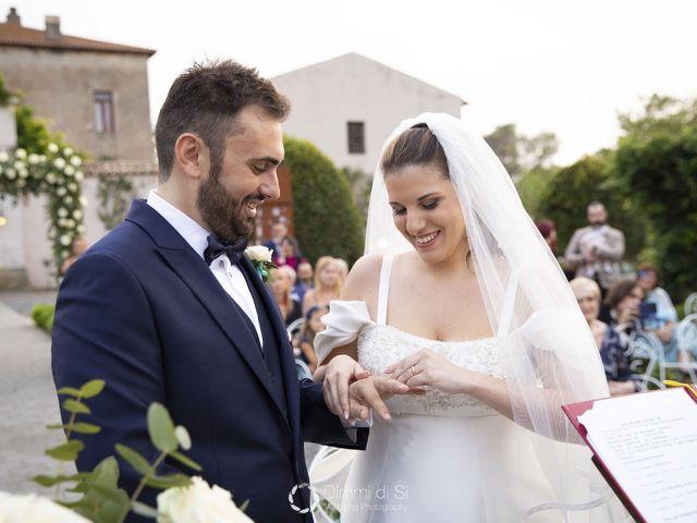 Il matrimonio di Martina e Marcello a Pomezia, Roma 12