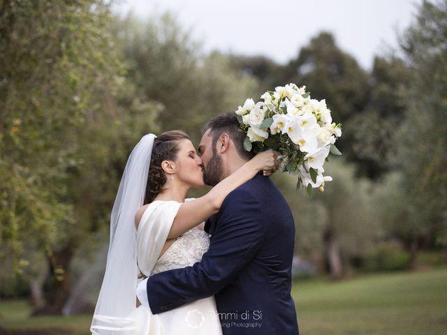 Il matrimonio di Martina e Marcello a Pomezia, Roma 2