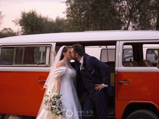 Il matrimonio di Martina e Marcello a Pomezia, Roma 17