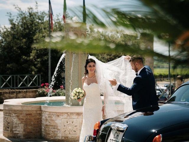 Il matrimonio di Enrico e Laura a Miglianico, Chieti 173