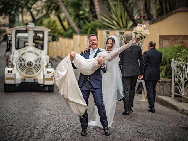 Il matrimonio di Pietro e Filomena a Sorrento, Napoli 1