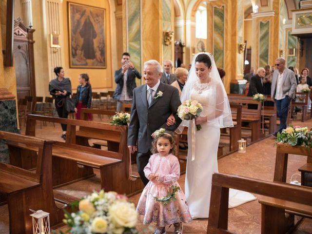 Il matrimonio di Giacomo e Elisa a Bordolano, Cremona 13