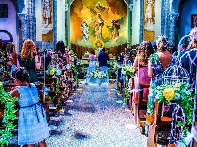 Il matrimonio di Marino e Donatella a Nembro, Bergamo 21