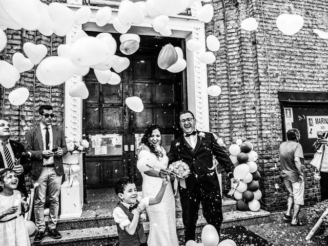 Il matrimonio di Marino e Donatella a Nembro, Bergamo 26