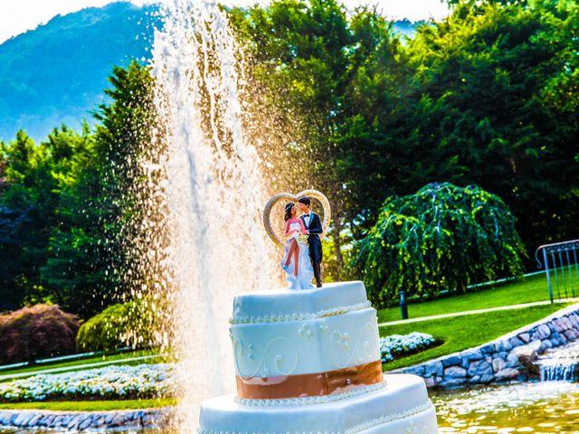 Il matrimonio di Marino e Donatella a Nembro, Bergamo 45