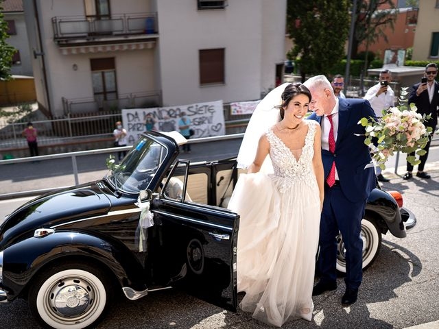 Il matrimonio di Matteo e Giulia a Bariano, Bergamo 11