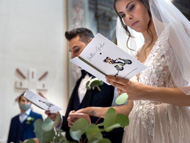 Il matrimonio di Matteo e Giulia a Bariano, Bergamo 17