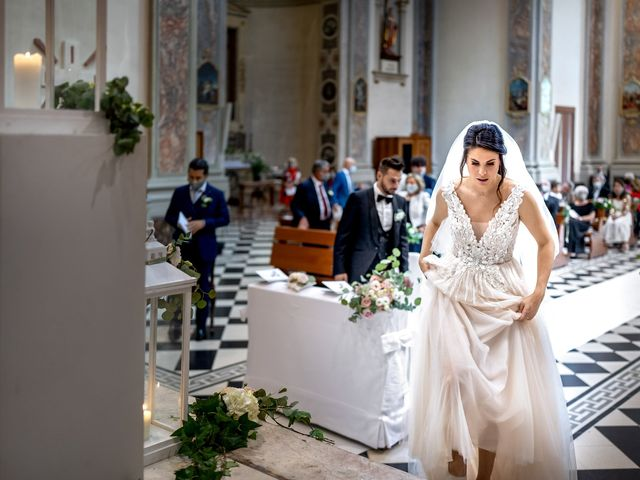 Il matrimonio di Matteo e Giulia a Bariano, Bergamo 18