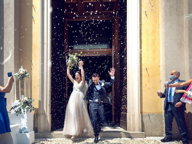 Il matrimonio di Matteo e Giulia a Bariano, Bergamo 19
