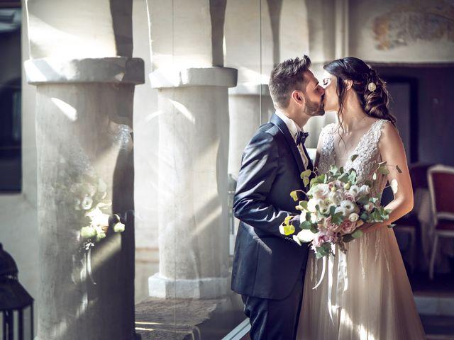 Il matrimonio di Matteo e Giulia a Bariano, Bergamo 35