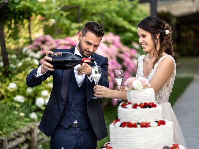 Il matrimonio di Matteo e Giulia a Bariano, Bergamo 40