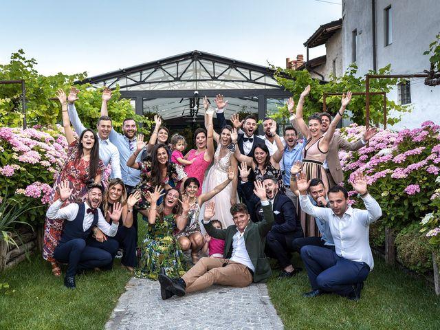 Il matrimonio di Matteo e Giulia a Bariano, Bergamo 41