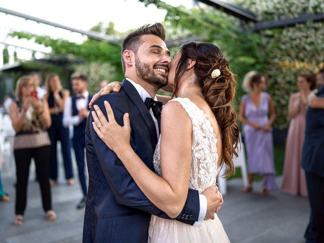 Il matrimonio di Matteo e Giulia a Bariano, Bergamo 44
