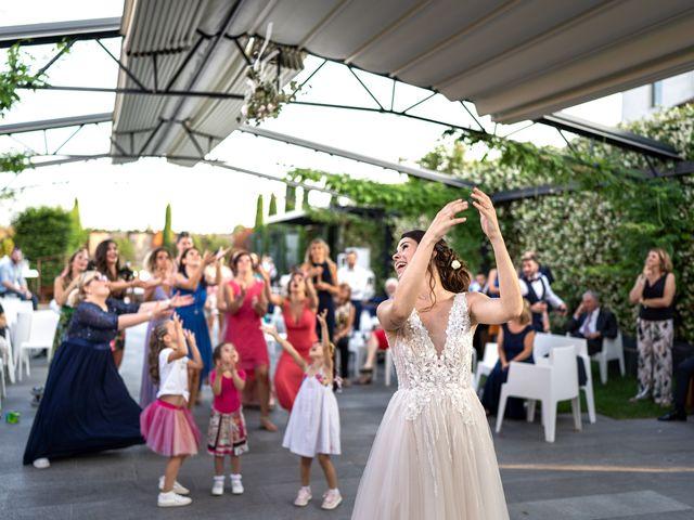 Il matrimonio di Matteo e Giulia a Bariano, Bergamo 45