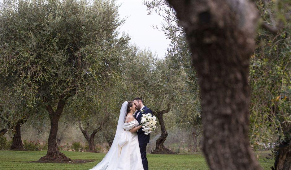 Il matrimonio di Martina e Marcello a Pomezia, Roma