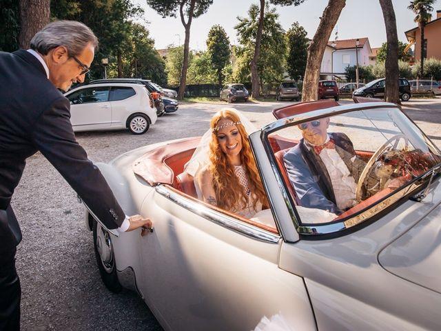 Il matrimonio di Fabio e Chiara a Santarcangelo di Romagna, Rimini 10