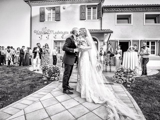Il matrimonio di Fabio e Chiara a Santarcangelo di Romagna, Rimini 21