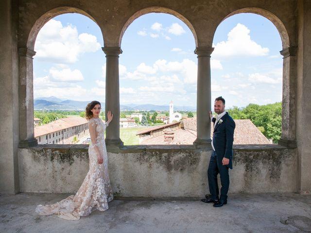 Il matrimonio di Mirko e Mara a Cavernago, Bergamo 12