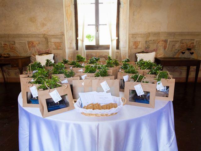 Il matrimonio di Mirko e Mara a Cavernago, Bergamo 20