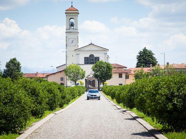Il matrimonio di Mirko e Mara a Cavernago, Bergamo 25