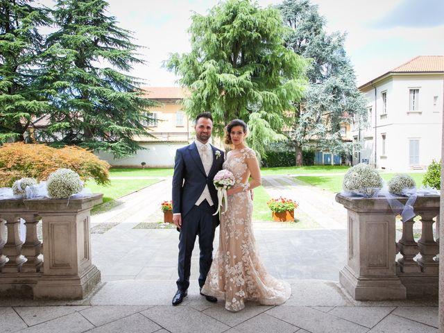 Il matrimonio di Mirko e Mara a Cavernago, Bergamo 34