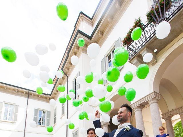 Il matrimonio di Mirko e Mara a Cavernago, Bergamo 35