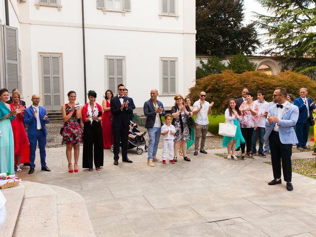 Il matrimonio di Mirko e Mara a Cavernago, Bergamo 41