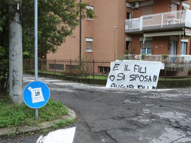 Il matrimonio di Filippo e Beba a Laveno-Mombello, Varese 3