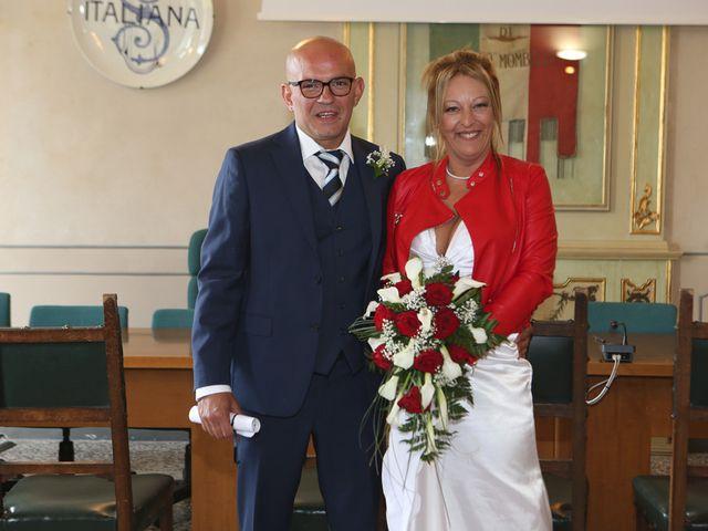 Il matrimonio di Filippo e Beba a Laveno-Mombello, Varese 14
