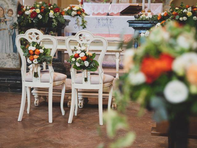 Il matrimonio di Alessandro e Silvia a Merone, Como 18