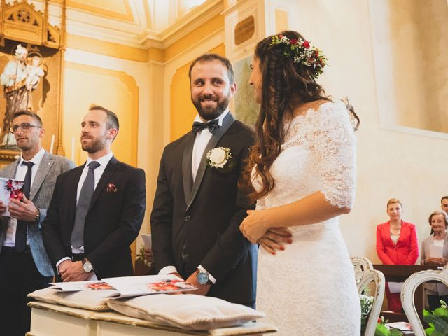 Il matrimonio di Alessandro e Silvia a Merone, Como 26