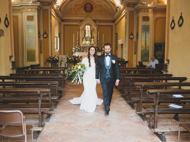 Il matrimonio di Alessandro e Silvia a Merone, Como 29
