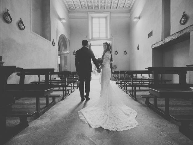 Il matrimonio di Alessandro e Silvia a Merone, Como 30