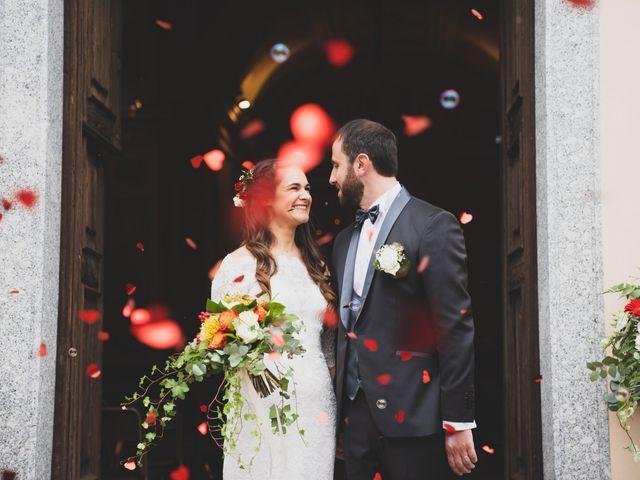 Il matrimonio di Alessandro e Silvia a Merone, Como 31