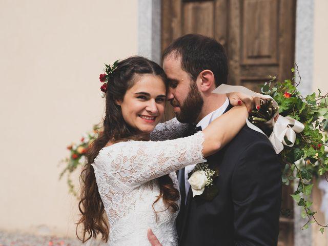 Il matrimonio di Alessandro e Silvia a Merone, Como 34