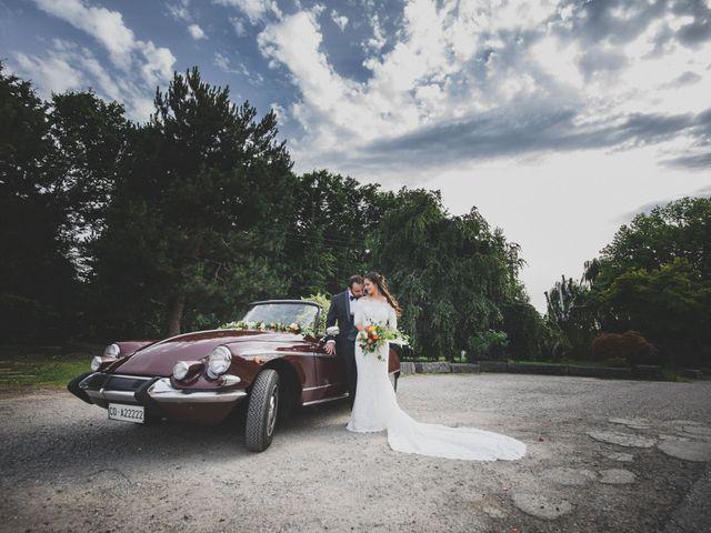 Il matrimonio di Alessandro e Silvia a Merone, Como 43