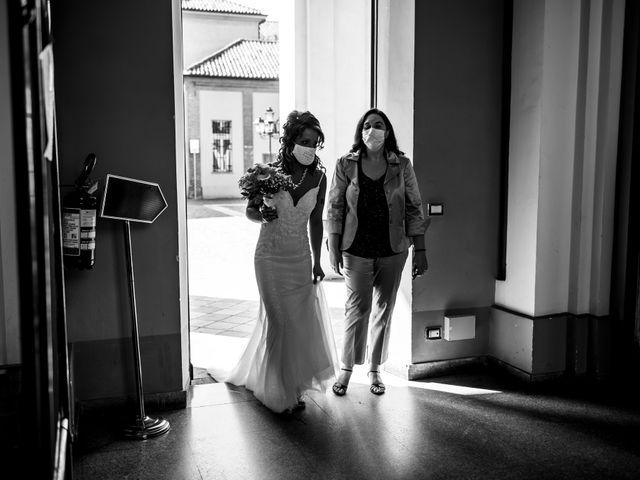 Il matrimonio di Enrico e Vanessa a Chivasso, Torino 34