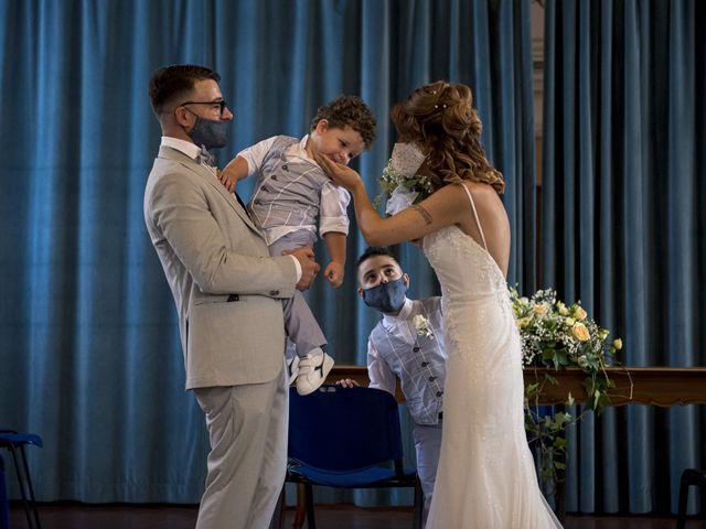 Il matrimonio di Enrico e Vanessa a Chivasso, Torino 35