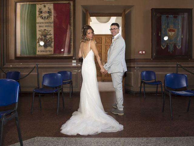 Il matrimonio di Enrico e Vanessa a Chivasso, Torino 43