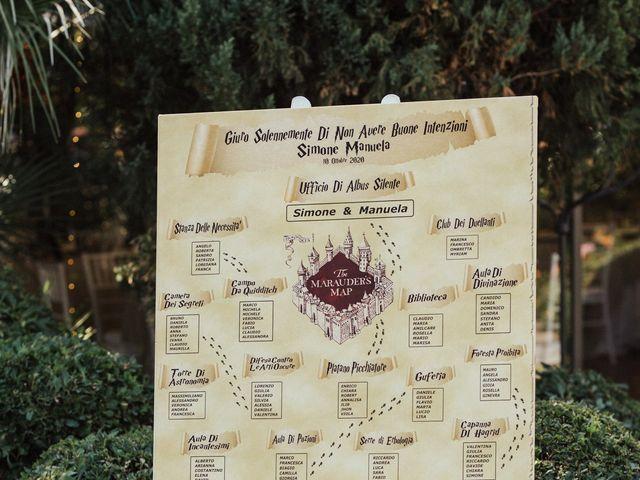 Il matrimonio di Simone e Manuela a Roma, Roma 91