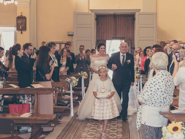 Il matrimonio di Lorenzo e Francesca a Concordia sulla Secchia, Modena 20