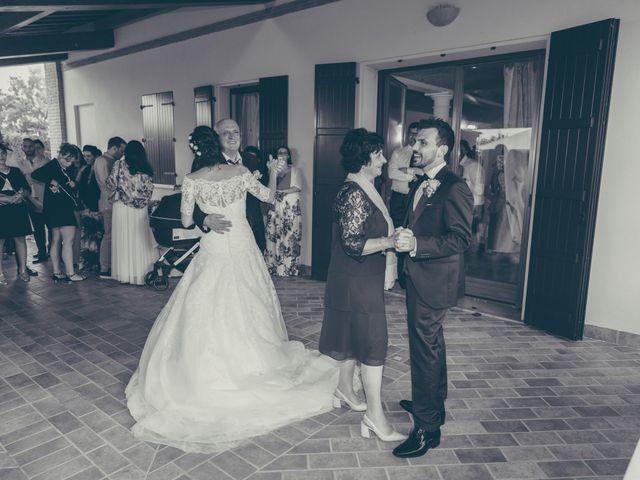 Il matrimonio di Lorenzo e Francesca a Concordia sulla Secchia, Modena 49