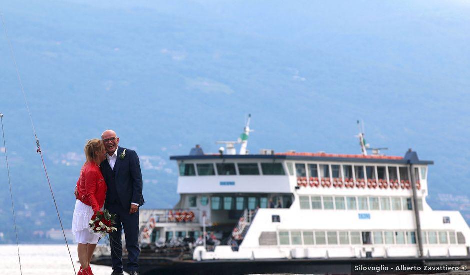 Il matrimonio di Filippo e Beba a Laveno-Mombello, Varese