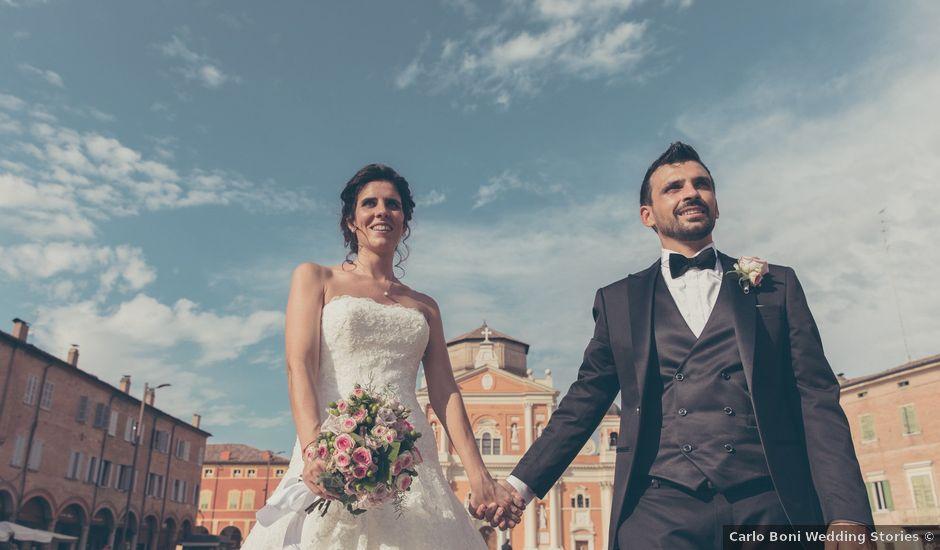 Il matrimonio di Lorenzo e Francesca a Concordia sulla Secchia, Modena