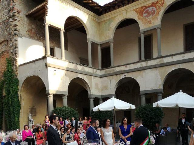Il matrimonio di Ilaria e Marcello a Cavernago, Bergamo 8