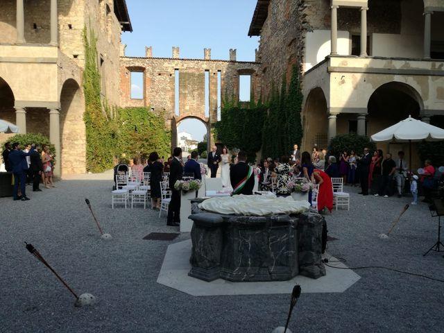 Il matrimonio di Ilaria e Marcello a Cavernago, Bergamo 9