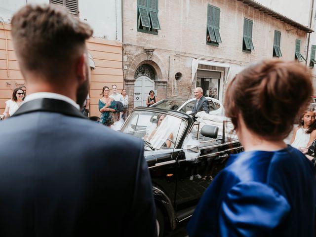 Il matrimonio di Mattia e Francesca a Arcevia, Ancona 58