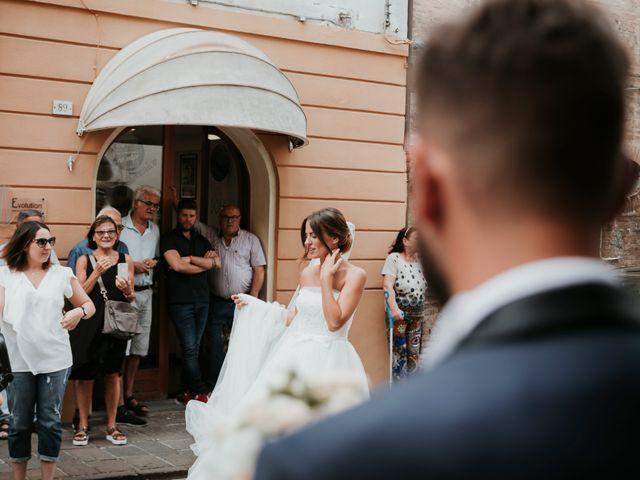 Il matrimonio di Mattia e Francesca a Arcevia, Ancona 59
