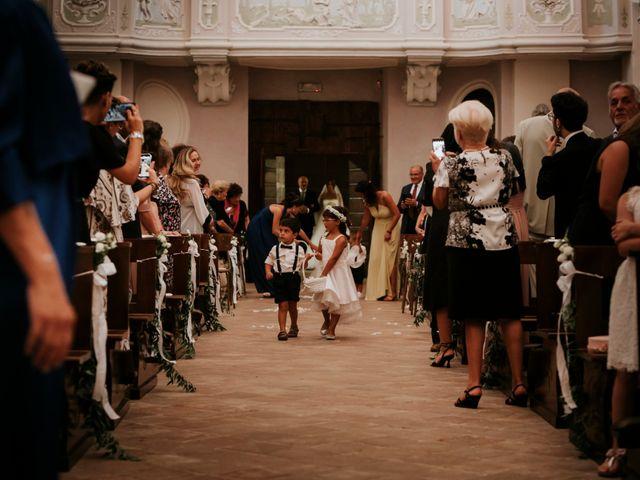 Il matrimonio di Mattia e Francesca a Arcevia, Ancona 63