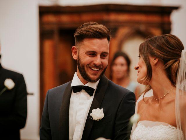 Il matrimonio di Mattia e Francesca a Arcevia, Ancona 72